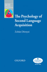 Okładka: The Psychology of Second Language Acquisition - Oxford Applied Linguistics