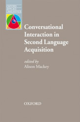 Okładka: Conversational Interaction in Second Language Acquisition - Oxford Applied Linguistics