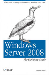 Okładka książki: Windows Server 2008: The Definitive Guide