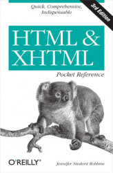 Okładka: HTML and XHTML Pocket Reference