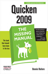 Okładka książki: Quicken 2009: The Missing Manual
