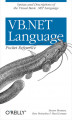 Okładka książki: VB.NET Language Pocket Reference - PhD Steven Roman, Ron Petrusha, Paul Lomax
