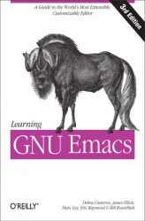 Okładka: Learning GNU Emacs