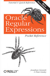 Okładka: Oracle Regular Expressions Pocket Reference