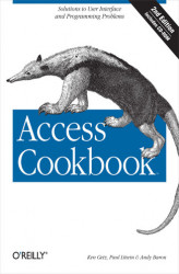 Okładka: Access Cookbook. Solutions to Common User Interface & Programming Problems
