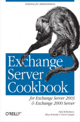 Okładka: Exchange Server Cookbook. For Exchange Server 2003 and Exchange 2000 Server