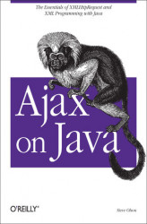 Okładka: Ajax on Java