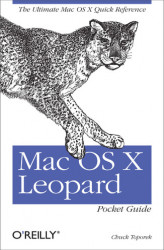 Okładka: Mac OS X Leopard Pocket Guide