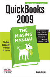 Okładka książki: QuickBooks 2009: The Missing Manual