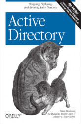 Okładka: Active Directory. Designing, Deploying, and Running Active Directory. 4th Edition