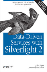 Okładka: Data-Driven Services with Silverlight 2