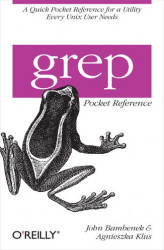 Okładka: grep Pocket Reference