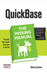Okładka: QuickBase: The Missing Manual. The Missing Manual