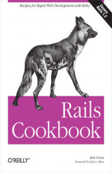 Okładka: Rails Cookbook