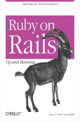 Okładka: Ruby on Rails: Up and Running. Up and Running
