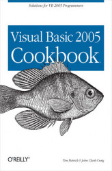 Okładka: Visual Basic 2005 Cookbook. Solutions for VB 2005 Programmers