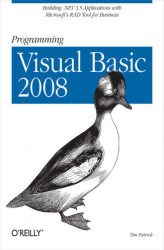 Okładka: Programming Visual Basic 2008. Build .NET 3.5 Applications with Microsoft's RAD Tool for Business