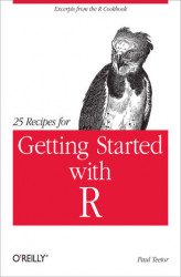 Okładka książki: 25 Recipes for Getting Started with R