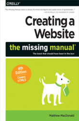 Okładka: Creating a Website: The Missing Manual