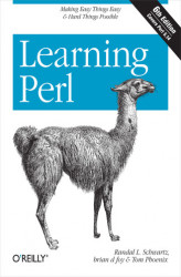 Okładka: Learning Perl
