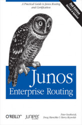 Okładka: Junos Enterprise Routing. A Practical Guide to Junos Routing and Certification