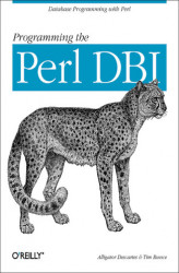 Okładka: Programming the Perl DBI. Database programming with Perl