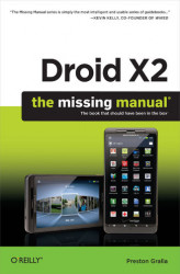 Okładka książki: Droid X2: The Missing Manual
