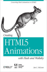 Okładka książki: Creating HTML5 Animations with Flash and Wallaby