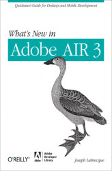 Okładka: What's New in Adobe AIR 3