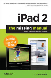 Okładka: iPad 2: The Missing Manual. 3rd Edition