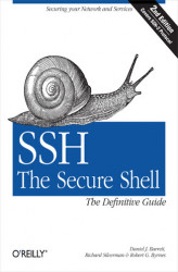 Okładka: SSH, The Secure Shell: The Definitive Guide. The Definitive Guide