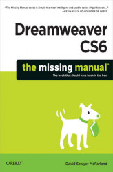 Okładka książki: Dreamweaver CS6: The Missing Manual