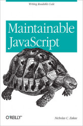 Okładka książki: Maintainable JavaScript