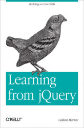 Okładka: Learning from jQuery