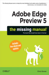 Okładka książki: Adobe Edge Preview 5: The Missing Manual
