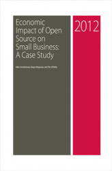 Okładka: Economic Impact of Open Source on Small Business: A Case Study