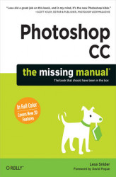 Okładka książki: Photoshop CC: The Missing Manual