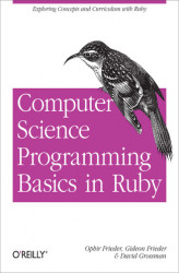 Okładka książki: Computer Science Programming Basics in Ruby
