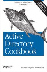 Okładka: Active Directory Cookbook