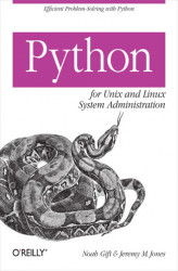 Okładka: Python for Unix and Linux System Administration