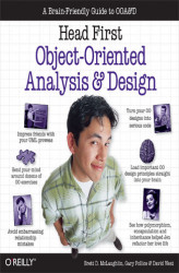Okładka: Head First Object-Oriented Analysis and Design. A Brain Friendly Guide to OOA&D