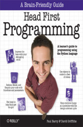 Okładka książki: Head First Programming. A learner's guide to programming using the Python language