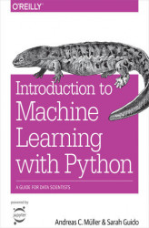 Okładka: Introduction to Machine Learning with Python. A Guide for Data Scientists