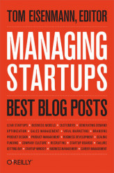 Okładka: Managing Startups: Best Blog Posts