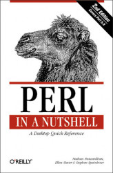 Okładka: Perl in a Nutshell. A Desktop Quick Reference