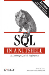 Okładka: SQL in a Nutshell. A Desktop Quick Reference