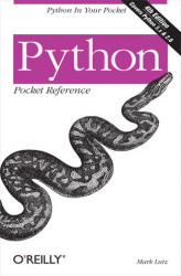 Okładka: Python Pocket Reference. Python in Your Pocket. 4th Edition