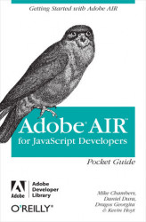 Okładka książki: AIR for Javascript Developers Pocket Guide