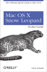 Okładka: Mac OS X Snow Leopard Pocket Guide. The Ultimate Quick Guide to Mac OS X