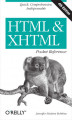 Okładka książki: HTML & XHTML Pocket Reference. Quick, Comprehensive, Indispensible. 4th Edition